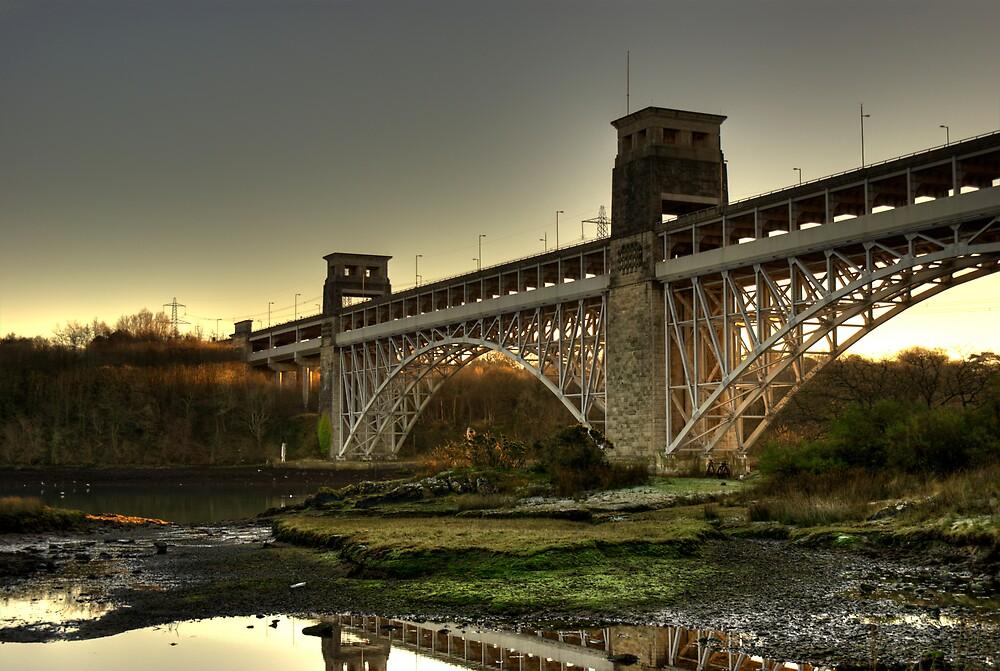 Britannia Bridge by Craig Beal