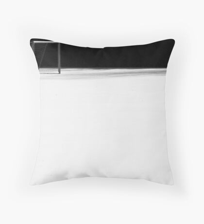 the white snow is not perfect I Throw Pillow