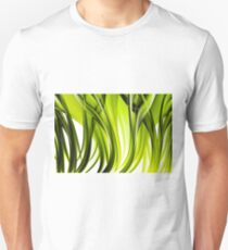 Abstract green grass look Unisex T-Shirt