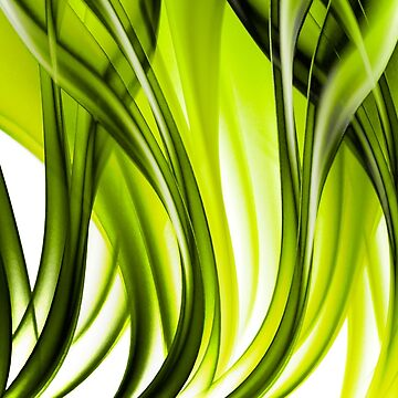 Abstract green grass look by artfx