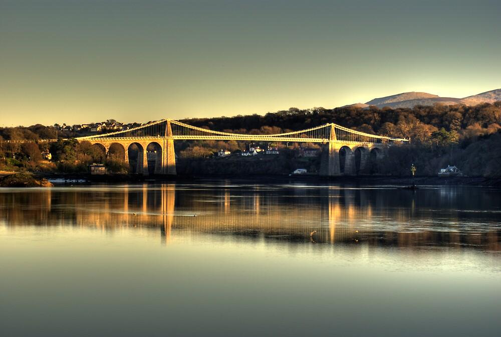 Menai Bridge  by Craig Beal