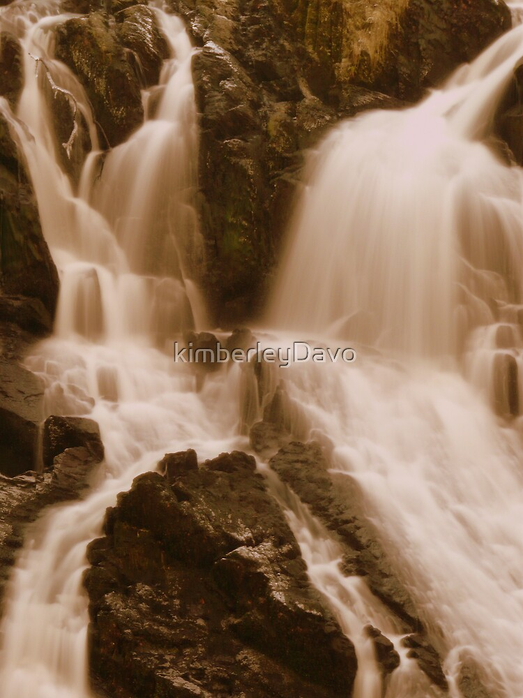 Swallow falls serpia by Kimberley Davitt
