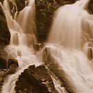 Swallow falls serpia by Kimberley Davitt