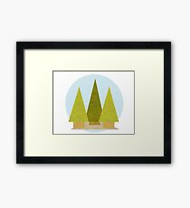 Tree Landscape Framed Print