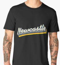 Newcastle, NSW   Retro Rainbow Men's Premium T-Shirt