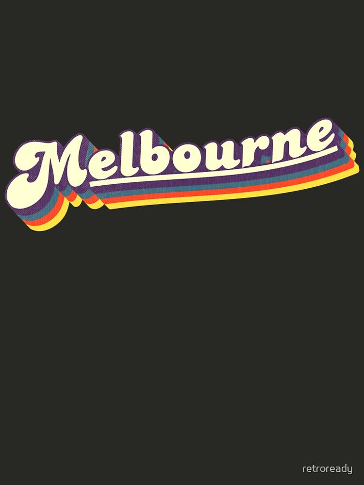 Melbourne, VIC | Retro Rainbow by retroready