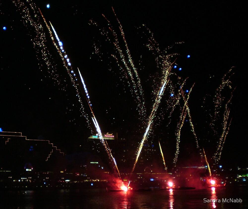 Fireworks by Sandra McNabb
