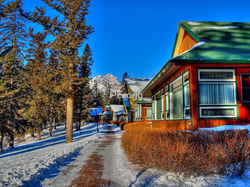 Mountain Retreat  Jasper National Park by PFrogg