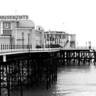 Worthing Pier B&W 2 by Greg Roberts