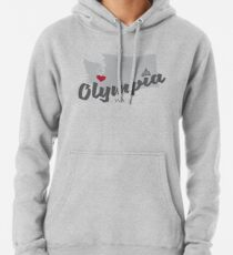 Olympia, Washington Hoodie