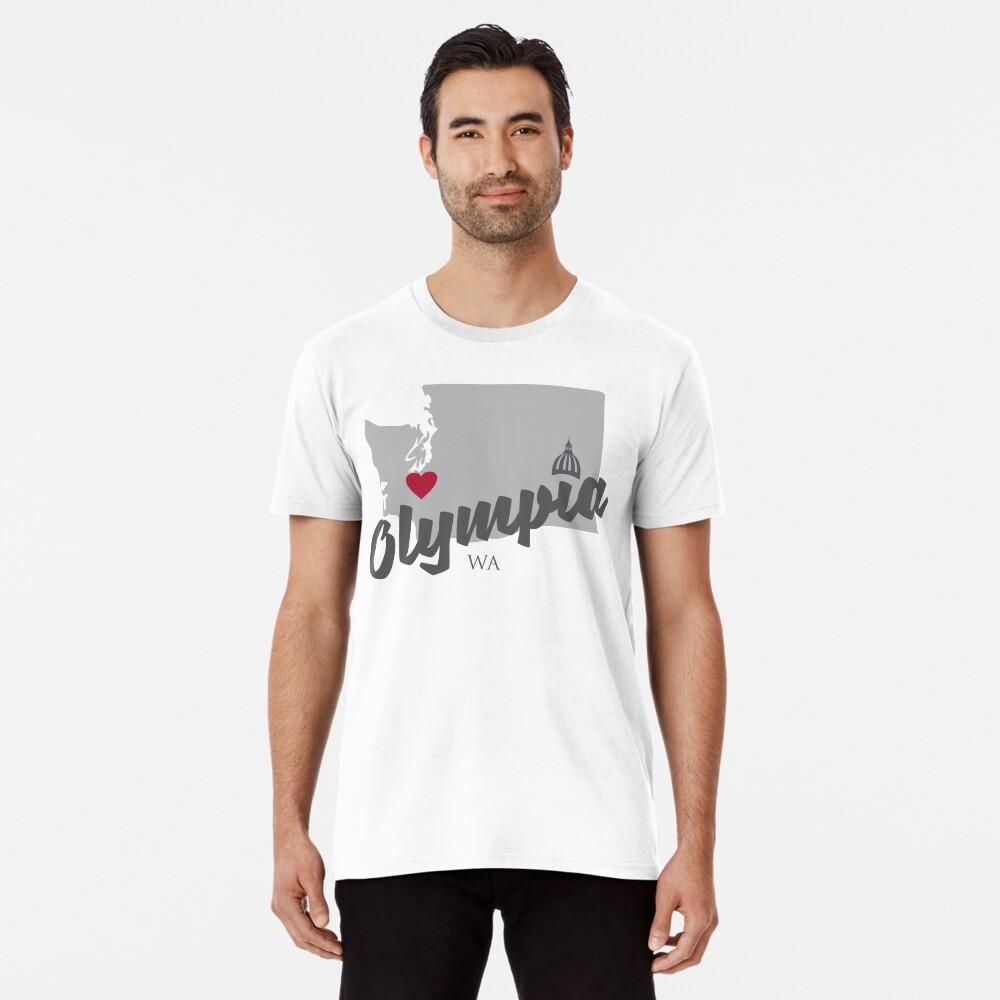 Olympia, Washington Premium T-Shirt