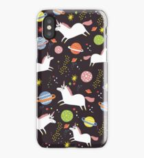 Space unicorns iPhone Case