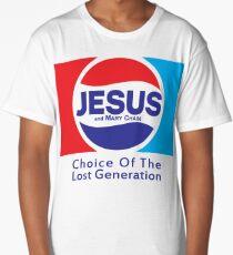 Jesus & Mary Chain - Lost Generation Pepsi Mashup Long T-Shirt