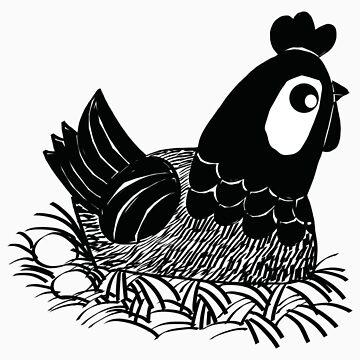 Hen by artlee