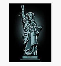 Statue of Time Photographic Print