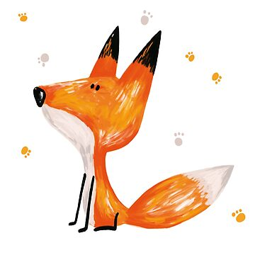 big little fox by solarlullaby