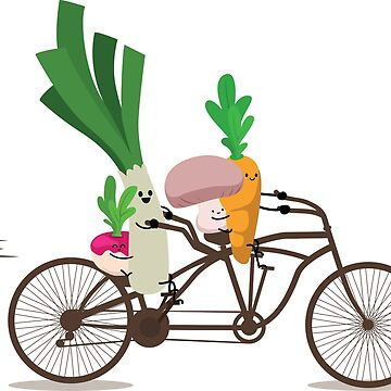 Vegetables on a ride! by audrey-bth