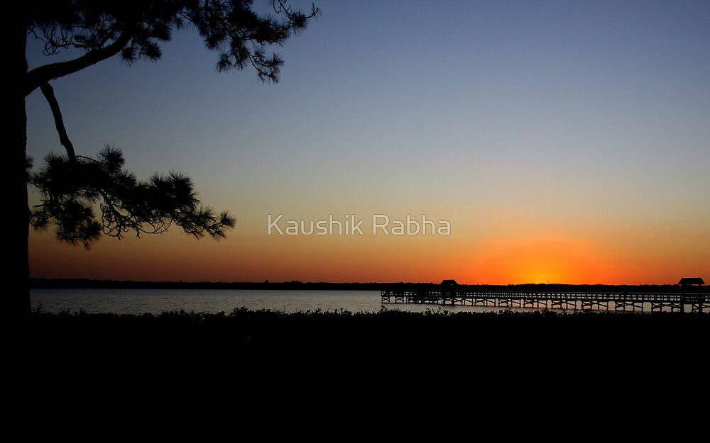 Sunset by Kaushik Rabha
