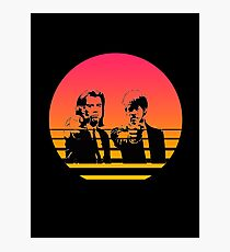 Pulp Fiction- Vincent and Jules. Photographic Print