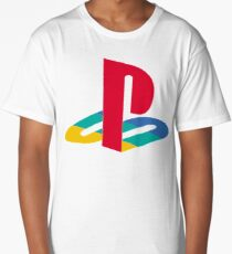 Original PlayStation Logo Long T-Shirt