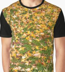 Autumn Leaves are Falling Graphic T-Shirt