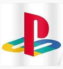 Original PlayStation Logo Poster