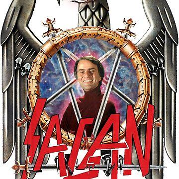 Slayer x Sagan - Carl Sagan - Cosmic Evil by autonomy
