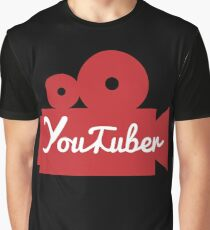 YouTuber Camera Graphic T-Shirt