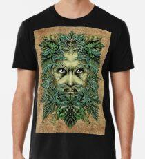 Der grüne Mann Männer Premium T-Shirts