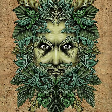 The Green Man by inkyPete