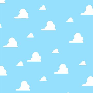 Toy Story Cloud Pattern by SnippyPie