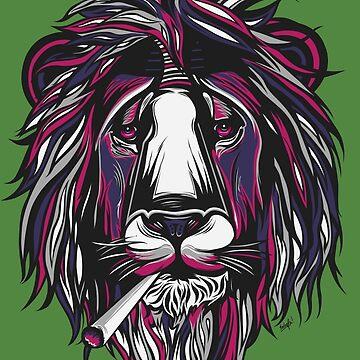 Smoke Lion by sologfx