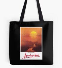 APOCALYPSE NOW, Movie, Film, OLD Poster, ON BLACK Tote Bag