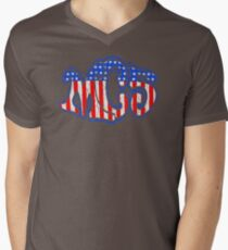 VINTAGE OD379 Mc5 Americana Kotj Trending Men's V-Neck T-Shirt