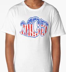 VINTAGE OD379 Mc5 Americana Kotj Trending Long T-Shirt