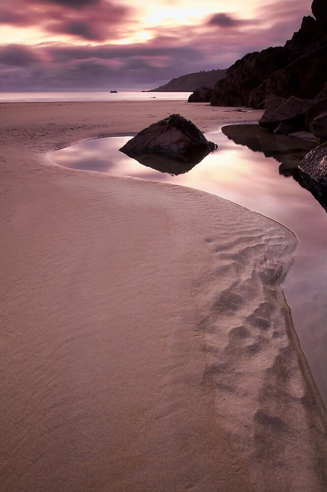 Petit Port Winter Dusk by PhotoToasty