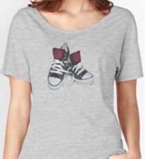 Sneakers  Women's Relaxed Fit T-Shirt