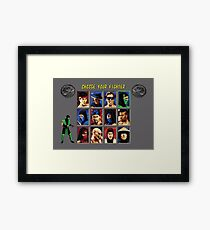 Mortal Kombat 2 – Choose Reptile Framed Print