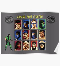 Mortal Kombat 2 – Choose Reptile Poster