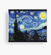 A Starry Wars Night Canvas Print