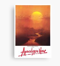 APOCALYPSE NOW, Movie, Film, OLD Poster, ON WHITE Canvas Print