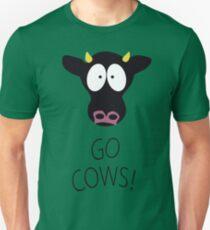 South Park gehen Kühe Slim Fit T-Shirt