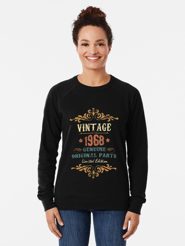 de42cfd10fa4d1 Alternate view of 50th Birthday Gift T-shirt Vintage 1968 Genuine Original  Parts Limited Edition