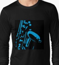 blu sax Long Sleeve T-Shirt