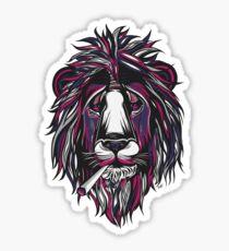Smoke Lion Sticker