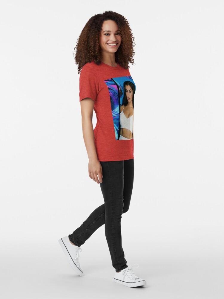 Vista alternativa de Camiseta de tejido mixto lauren