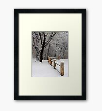 Familiar Scene Framed Print
