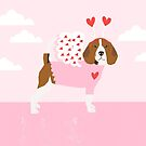 Beagle love bug valentine day dog breed pet gifts dog lover must have by PetFriendly