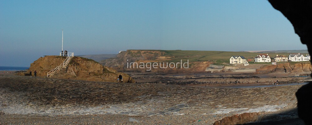 castle cove panorama by imageworld