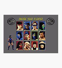 Mortal Kombat 2 – Choose Kitana Photographic Print